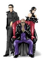 The Matrix Trio by juliuspetri