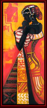 African woman 6 by Tsabo6
