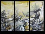 Asian Landscape x3