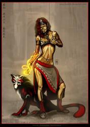 Sarkara and Koyal by Tsabo6