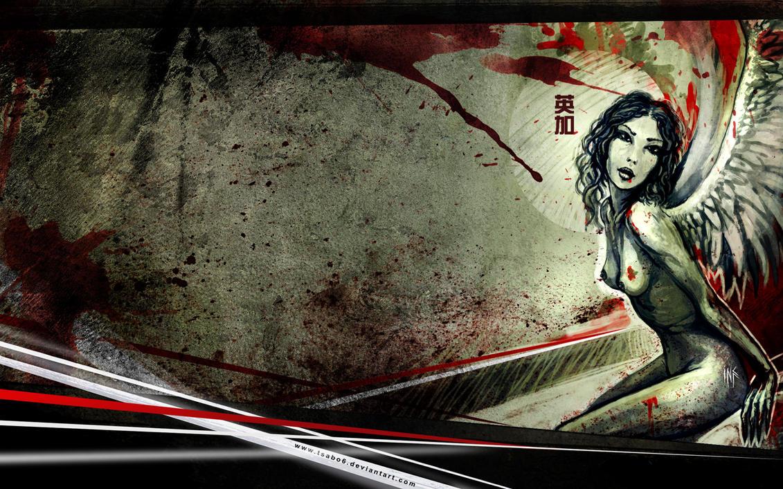12. Best Wallpaper Artistic Painting | Naked Angel