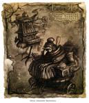Baba Yaga - steampunked