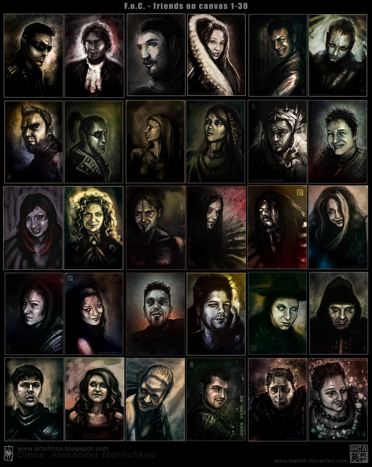 My Dark friends 1-30 by Tsabo6
