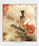 Girl with Gu Zheng by Tsabo6