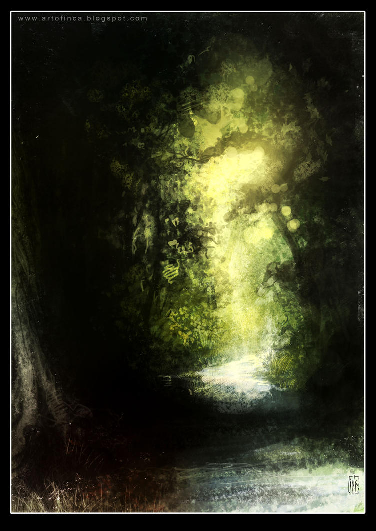 Forest path 4 by Tsabo6