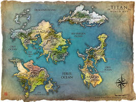 TITAN world map by Tsabo6