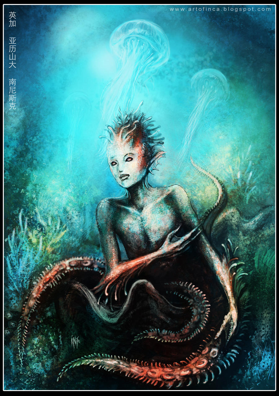 the Deepsea Newborn by Tsabo6