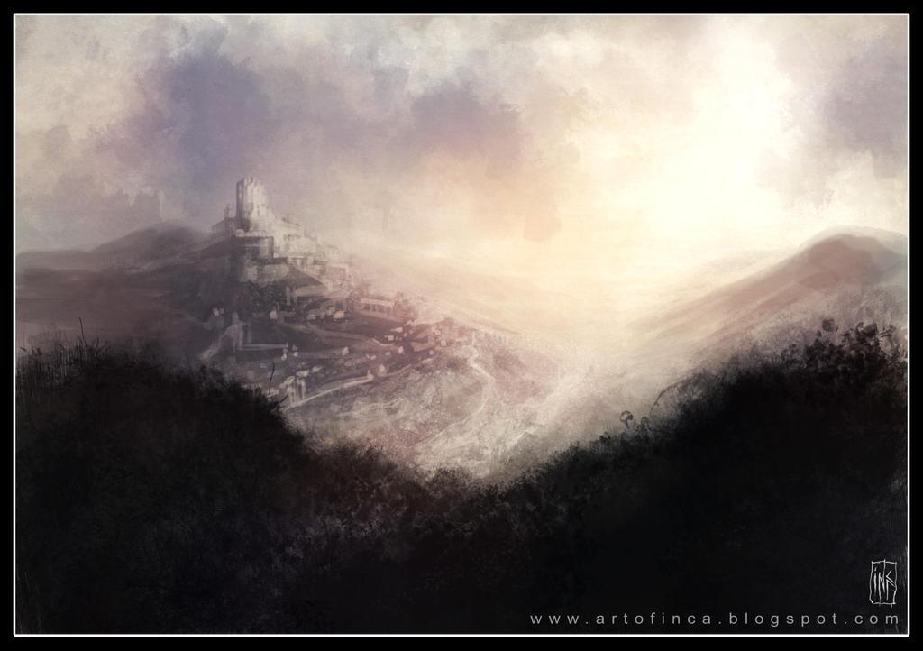 Mountain sunset. by Tsabo6