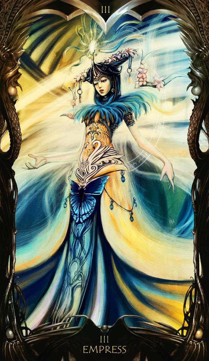 The Empress And Death Antique Tarot Cards: Tarot, Tarot Cards And Ascended