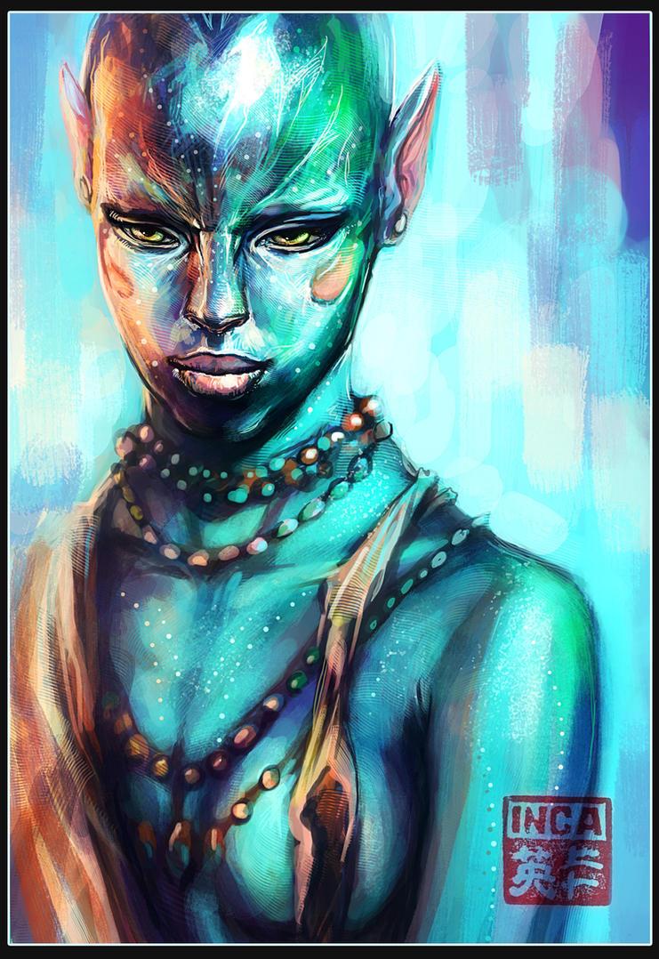 Navi Portrait 2 by Tsabo6