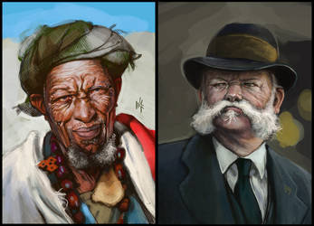 Study: Portraits 2 by Tsabo6