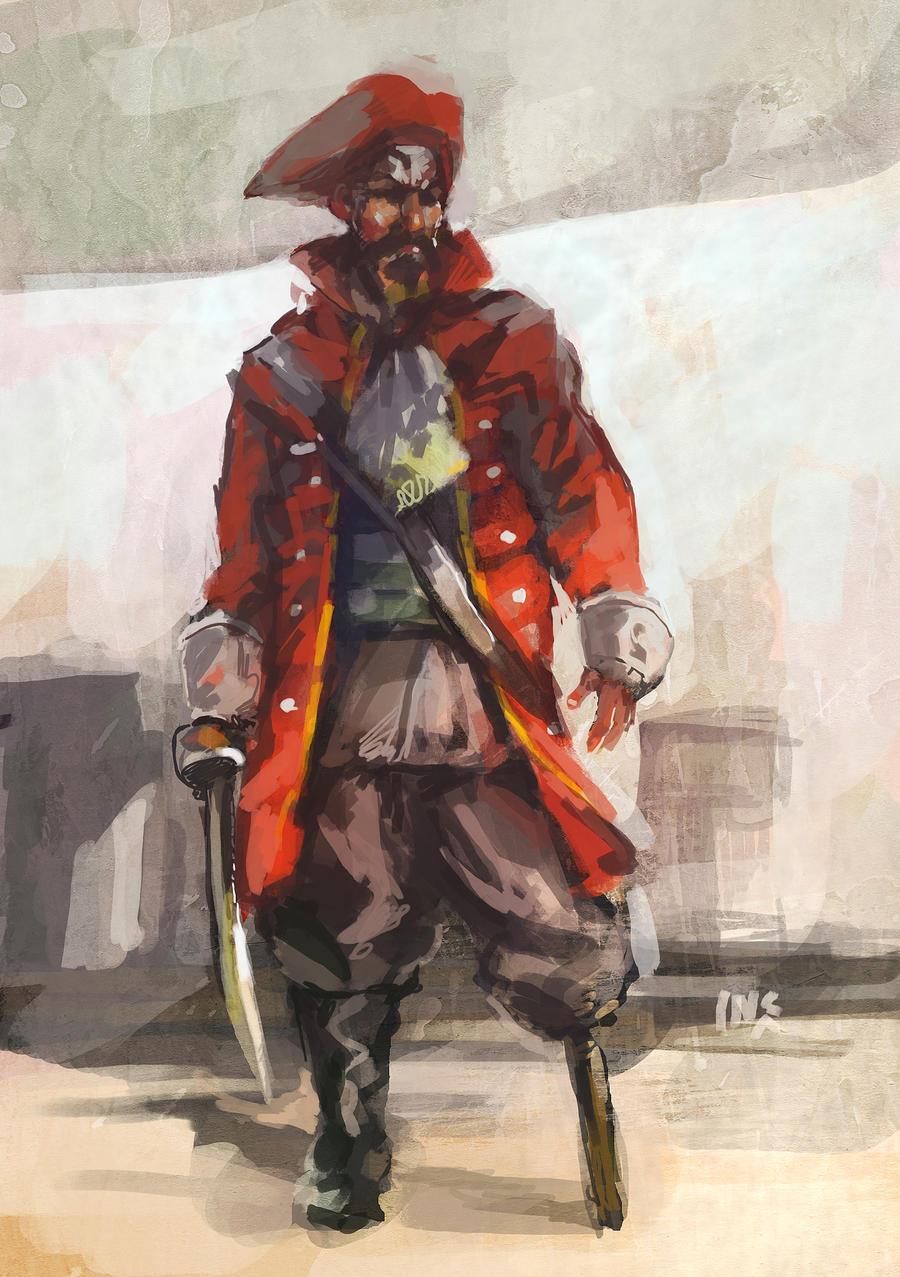 Study: Pirate 2 by Tsabo6