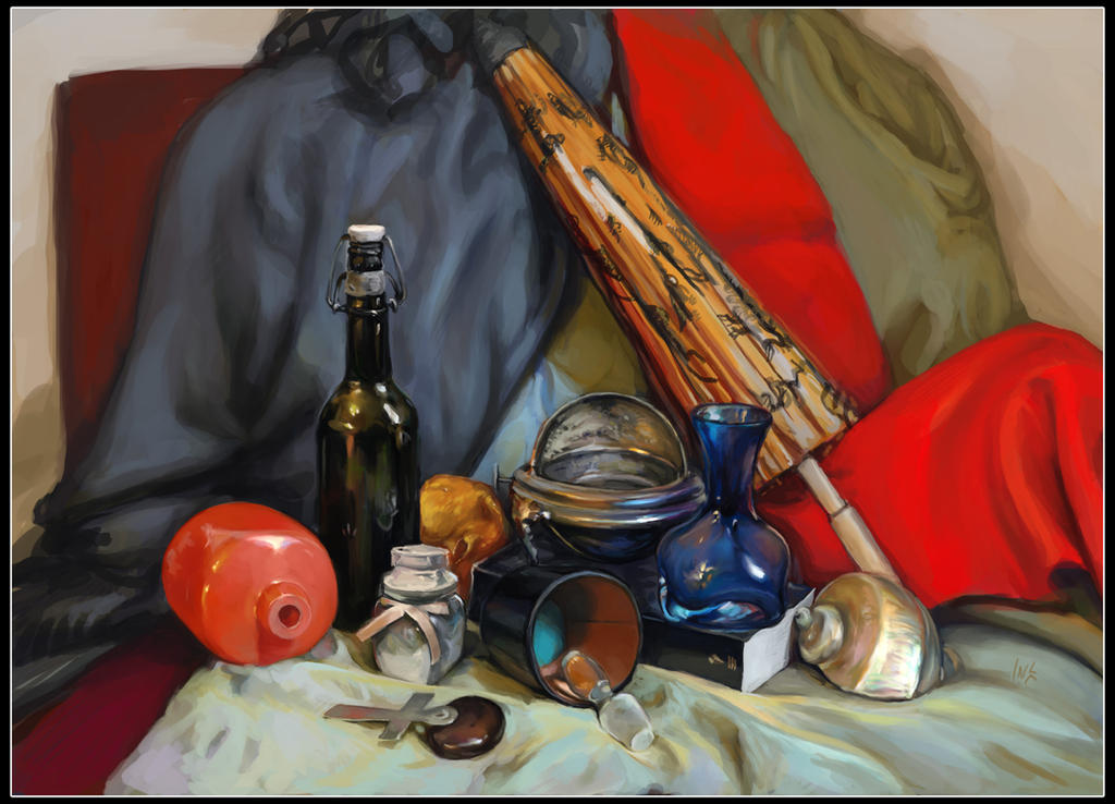 Study: still life 4 by Tsabo6