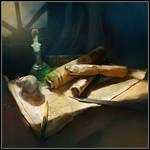 Magic Scrolls by Tsabo6