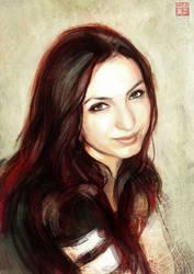 Girl portrait by Tsabo6