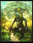 Protector tree by Tsabo6