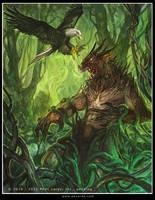 Druids wraith by Tsabo6