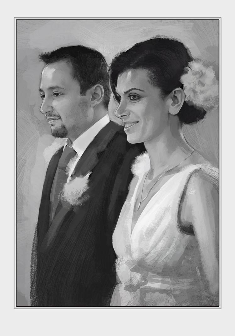 the Wedding portrait by Tsabo6