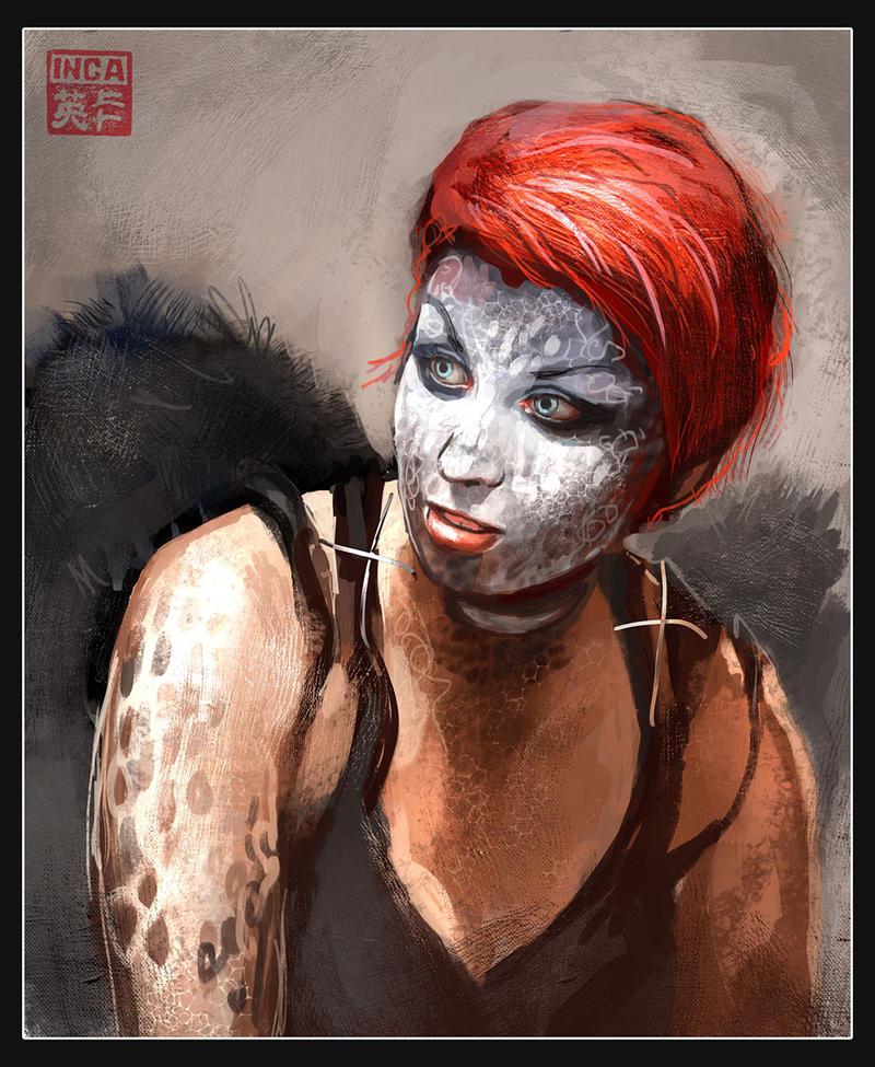 Halloween makeup by Tsabo6