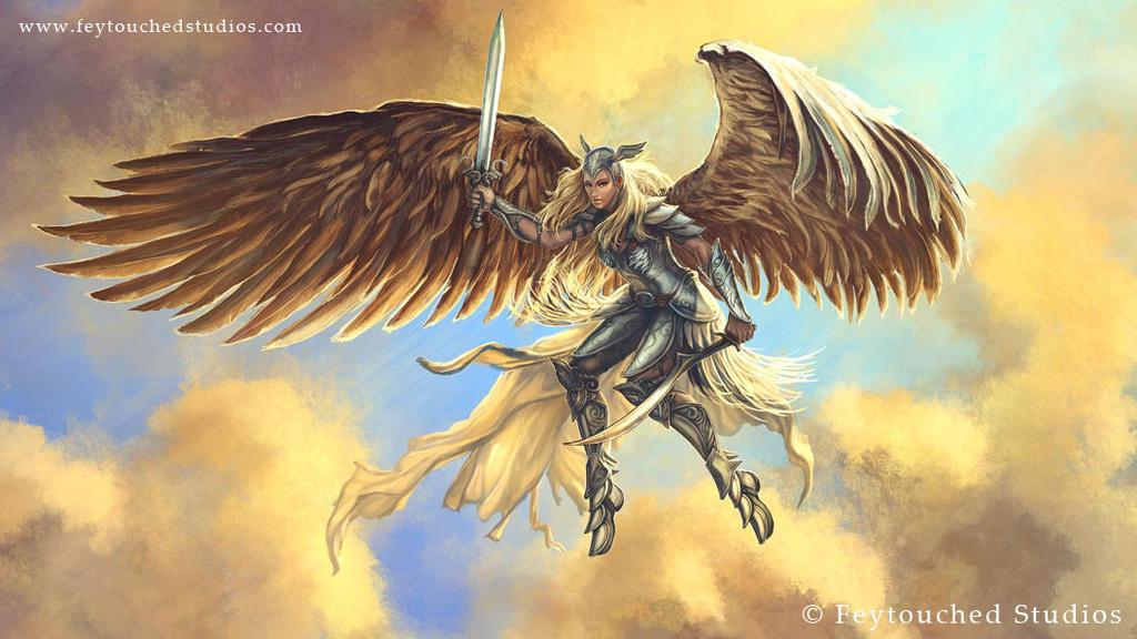 Angel by Tsabo6