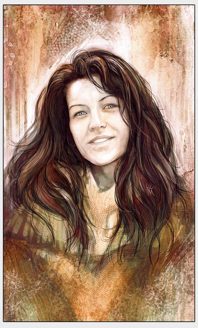 Portrait commission by Tsabo6