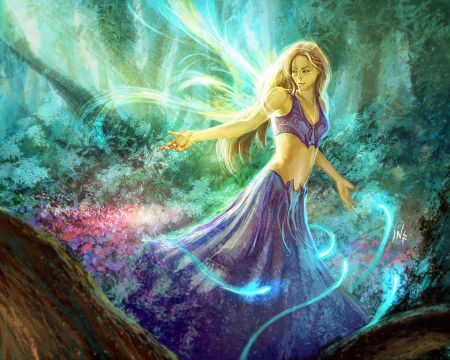 Forest faerie by Tsabo6 on DeviantArt