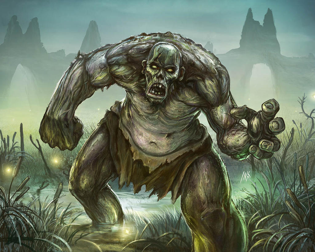 Zombie giant by Tsabo6