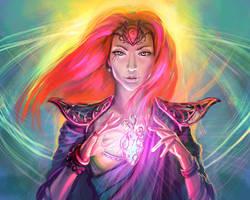 Amulet of destiny by Tsabo6