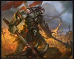 Orc Warlord by Tsabo6