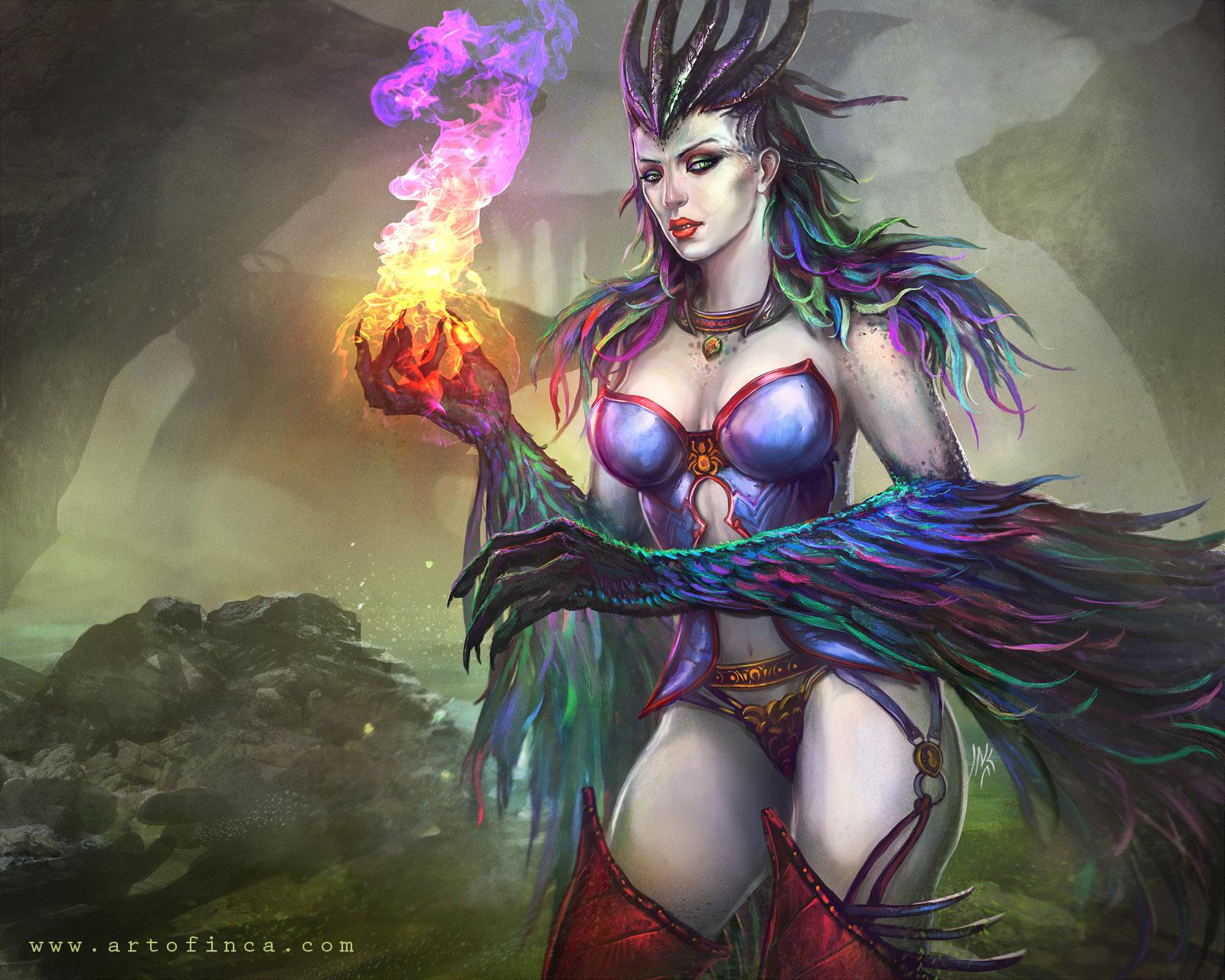 Corruption Witch by Tsabo6