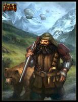 Dwarf gunman by Tsabo6