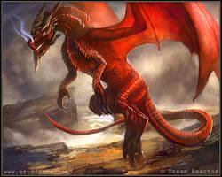 Red Dragon by Tsabo6