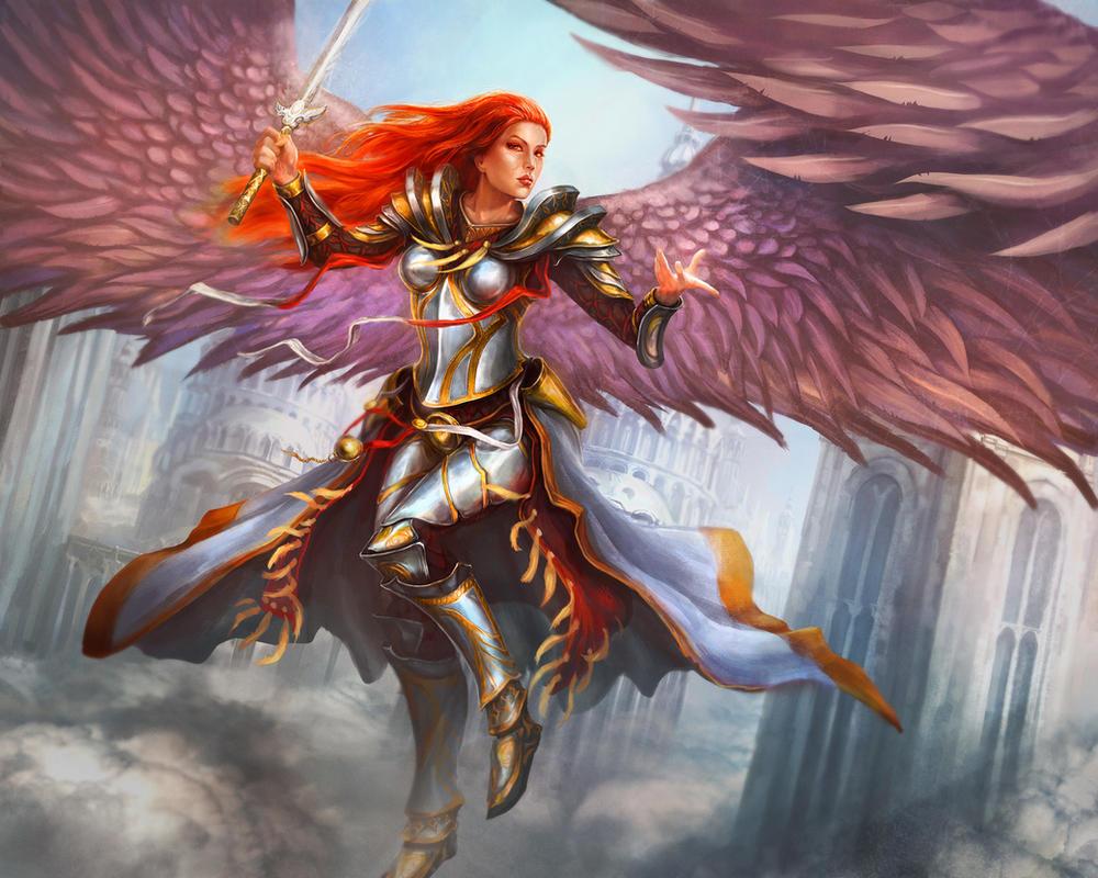 Archangel by Tsabo6 on DeviantArt