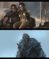 Game of thrones study 12 by Tsabo6
