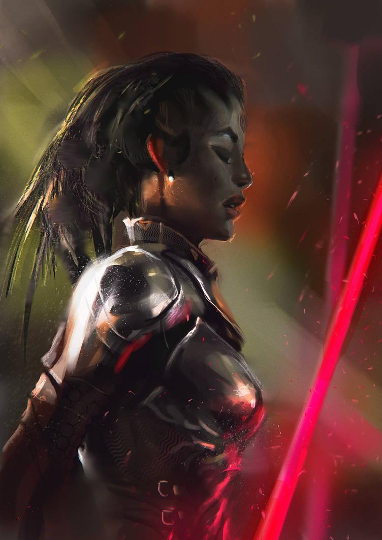 Sith girl by Tsabo6