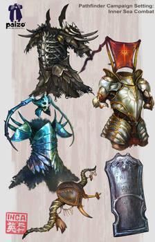 Inner sea items