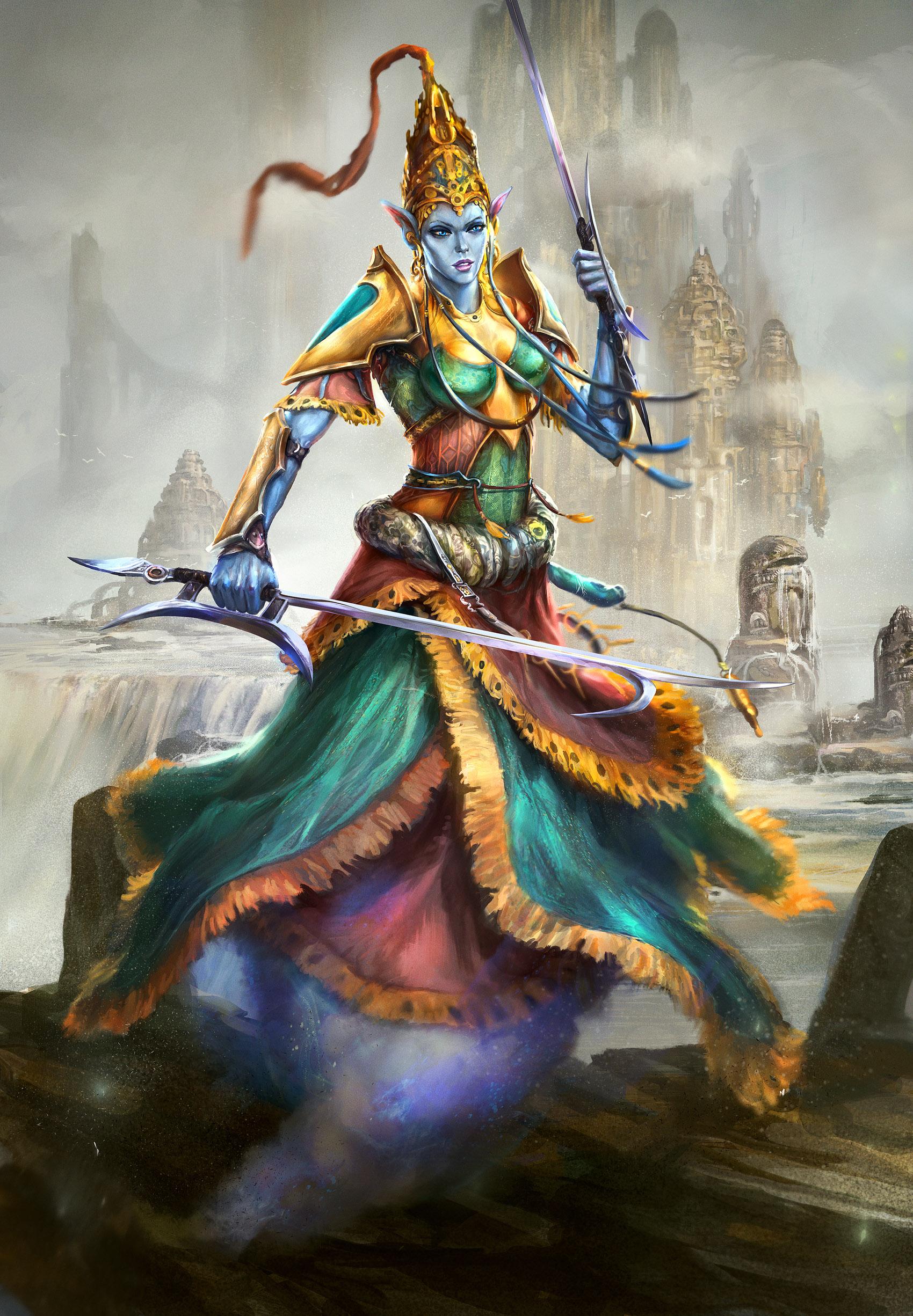 Djinn Avatar By Tsabo6 On Deviantart