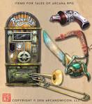 Items of Arcana 3