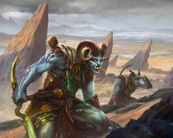 Golden Ram Horde by Tsabo6
