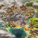 six goblin villages map