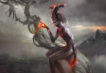 Ashen spirit by Tsabo6