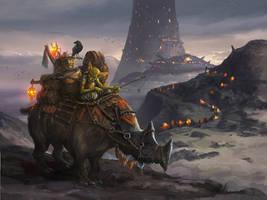 Goblin merchant by Tsabo6