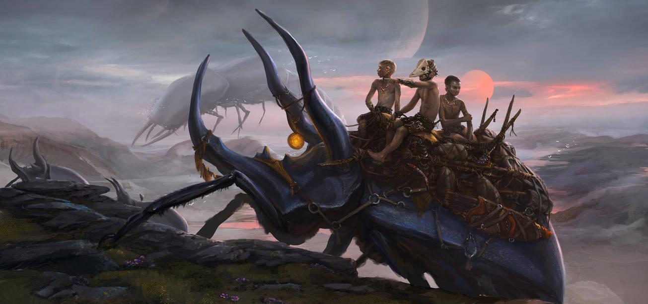 the Chitin Swarm by Tsabo6