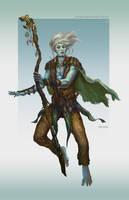 Deep elf elder by Tsabo6