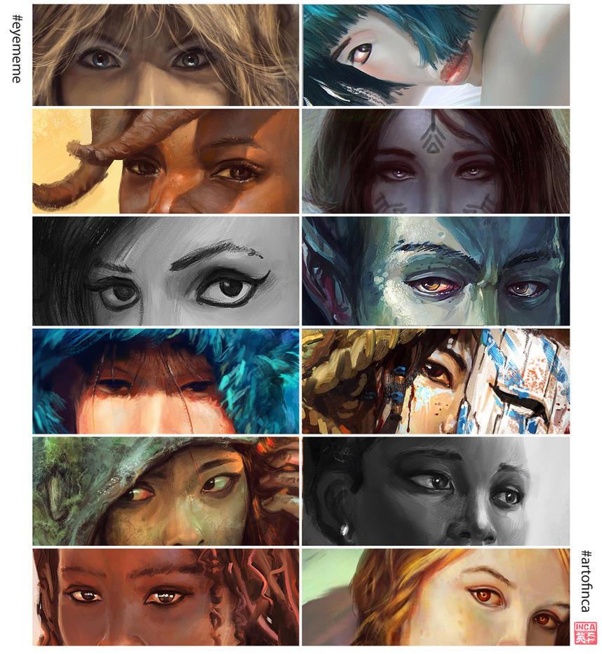 Eyememe by artofinca by Tsabo6