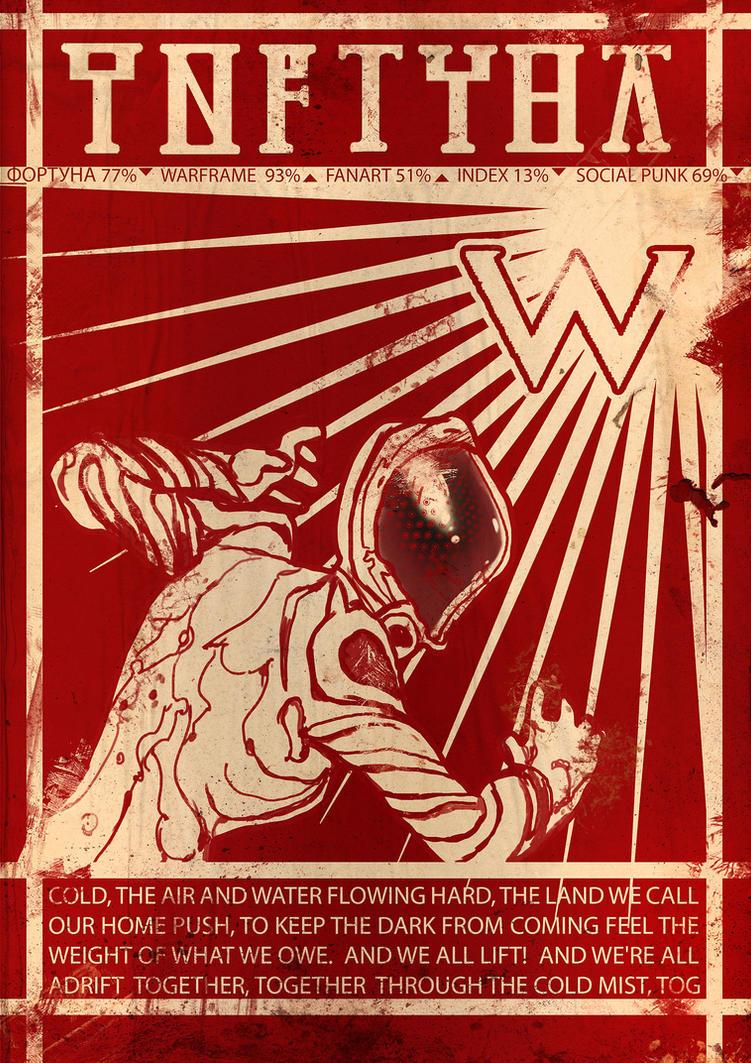 Social Punk Warframe Propoganda by Tsabo6
