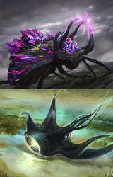 Spellweaver creatures by Tsabo6