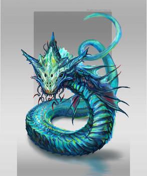Serpent creature