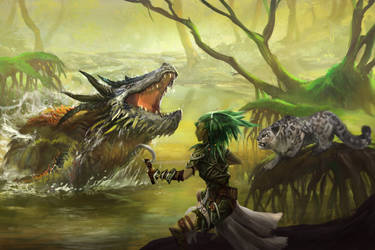 Swamp encounter