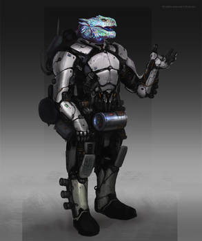 Vesk trooper